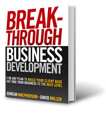 Breakthrough Business Development Book